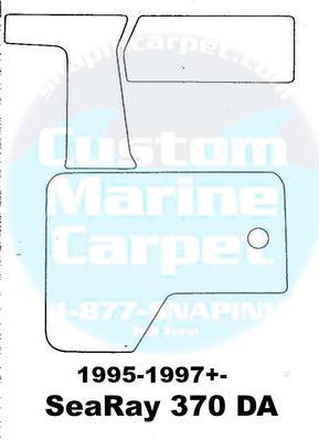 SeaRay Cockpit Carpet Kits