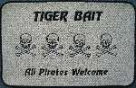Tiger Bait, All Pirates Welcome custom boat mat